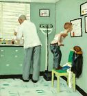 Before the Shot by Norman Rockwell Painting Artwork Paint By Numbers Kit DIY