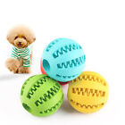 molar Teeth Cleaning Interactive Food Dispenser Feeder PetToys Dog Treat Ball