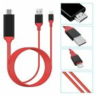 1080P Lightning to Digital AV TV HDMI Cable Adapter For iPad Air Apple iPhone X