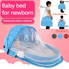 Baby Bed Travel Foldable Infant Crib Bag Mosquito Net Nursery Sleeping Portable