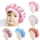 Baby Kids Large Fruit Turban Beanie Bonnet Adjustable Hat Sleep Cap Satin Hat