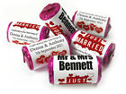 V1_Personalised Mini Love Heart Sweets for Weddings favours,Just Married