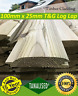 More images of See Postcodes 100mm x 25mm Shed Timber Cladding Log lap 70 x 3.6m lengths loglap