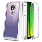 For Motorola Moto g6 Play / g6 Forge Case Slim Built-In Screen Protector Cover