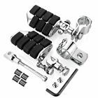 "Chrome Highway Foot pegs 1""~1.25"" Crash Bar For Yamaha V Star 1100 Star Venture"