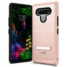 CoverON For LG Stylo 6 Kickstand Case Metal Protective Hard Phone Cover