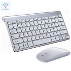 US 2.4G Mini Waterproof Wireless Keyboard And Mouse Set For Apple Mac PCComputer