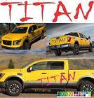 for 2003–2018 Nissan Titan NEW vinyl graphics decal TITAN custom size 16 colors