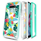 For LG K51 Case Slim Thin Fit Built-In Screen Protector Phone Cover