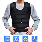 Kyпить Adjustable Weighted Vest 22lb-132lb Weight Plate Fitness Exercise Training Empty на еВаy.соm