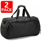 2x Travel Duffle Bag 50l Shoes Pocket Wet Compartment Waterproof Tear Resistant