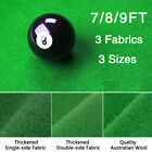 Worsted Fast Speed Pool Table Felt Billiard Cloth for 7 8 9 Foot Table w/ Strips $25.99 USD on eBay