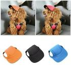 Pet Dog Baseball Hat Three Colors Canvas Cap Small Dog Blue Outdoor H4o7