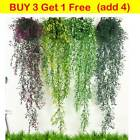 Artificial Fake Flower Hanging Trailing Vine Leaf Garland Plant Home Wall Decor