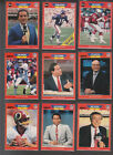 1989 Pro Set Announcers Singles U Pick FREE shipping----30% off on 4++++!!!!! $0.99 USD on eBay