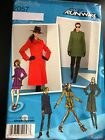 Simplicity Pattern 2057 Ms Project Runway Coat~jacket W/collar & Sleeve Options