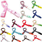 Baby Pacifier Clip Boy Girl Teething Dummy Soother Nipple Strap Chain Holder Kit