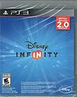 DISNEY INFINITY Game Disc CDs DVD 1.0 2.0 3.0 PS3 PS4 Xbox 360 ONE Wii U 🎼