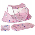 Foldable Baby Mosquito Net Tent Crib Newborn Instant Mattress Pillow Bed
