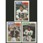 1987 Topps Football Cards singles NM $1.50 ea. #1-271 U-Pick FREE SHIPPING !!!! $1.5 USD on eBay