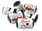 V13_Personalised Mini Love Heart Sweets for Weddings Cartoon, Different Foil