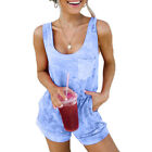 Women Summer Jumpsuit Romper Shorts Beach Holiday Mini Playsuit Dress Casual
