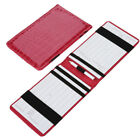 For Golf Score Counting Keeper Card Holder Gift Sports Accessories with Pencil
