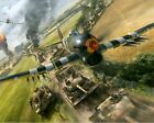 World War 2 Hawker Typhoon Aircract WW2 Painting Paint By Numbers Kit DIY
