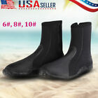 5mm Boot Scuba Diving Snorkeling Booties Wetsuit Boots Foot Protector Shoes