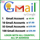 Kyпить Fresh Gmail Account ✔high quality ✔️work with all IP ✔️Guarantee ✔️Fast Delivery на еВаy.соm