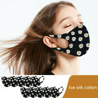 1/5/10pcs Unisex Face Mask Print Protective Covering Reusable Washable New