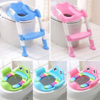 Внешний вид - Protable Kids Toilet Seat Ladder Baby Toddler Potty Training Seat NonSlip Safety