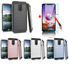 For Lg Stylo 4 Plus / Stylo 5 / Phone Case Cover + Freetempered Glass Protector
