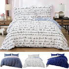 3 Pieces Duvet Cover Comforter Cover Printed Microfiber w/ Pillowcase Queen King