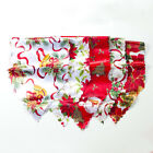 Rectangle Floral Christmas Table Runner Flag Tablecloth Wedding Party Decoration