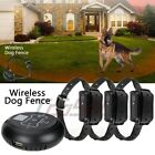 For 1/2/3 Dogs Wireless Electric Dog Fence Pet Containment System Shock Collars