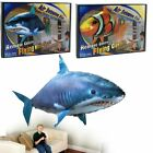 Remote Control Flying Shark Fish RC Radio Air Swimmer Inflatable Blimp Gift Toys