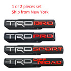 2X TRD PRO/OFF ROAD/BRO/SPORT Door Emblem Sticker Badge Fits Toyota Tacoma