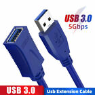 USB 3.0 Extension Cable Data Extender Cord Standard Type A Male to Female OTG