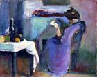 Reading Woman In Violet Dress By Henri Matisse Paint By Number Kit DIY Painting