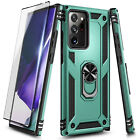 For Samsung Galaxy Note 20 / Note 20 Ultra Phone Case Magnetic Ring Stand Cover