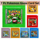 NEW GBC Pokemon Game Card Carts GameBoy For Nintendo Color Version Cartridge US