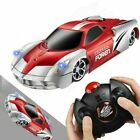 Wall Climbing Remote Control RC Car Rotating LED Stunt Racing Car Kids Toys Gift