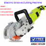 More images of Wall Chaser Concrete Sawing Electric Groove Cutting Machine Slotter Blade 125mm