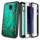 For Samsung Galaxy J3 Orbit Star Achieve J3V Case with Built-In Screen Protector