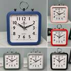 Battery Operated Easy To Read Small Alarm Clock Desk Bedroom Bedside Table Decor
