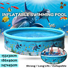 New Inflatable Paddling Pool Swimming pool for Kid and Family Great outdoor Fun