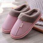 Women Winter Slippers Indoor Outdoor Mules Plush Lined Warm House Shoes-Sizes UK