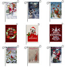 Merry Christmas Double Sided Decorative Welcome Winter Holiday Garden Flag