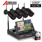 ANRAN 4/8CH NVR Wireless Outdoor CCTV Security Camera System Kits 1TB Hard Drive picture